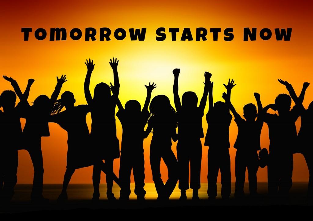 明日は今から始まる!